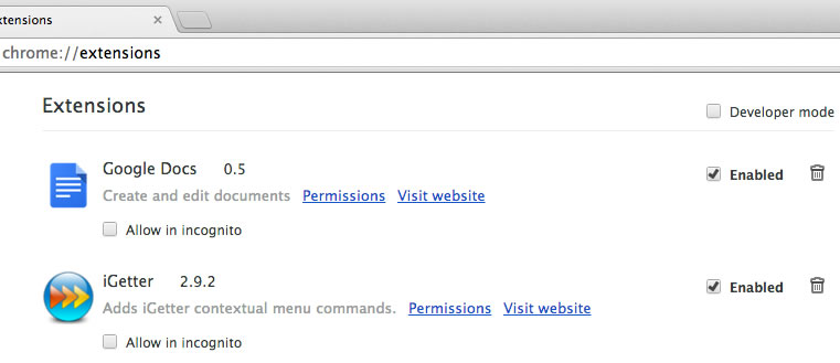 Forums - No context menu in Chrome on Mac